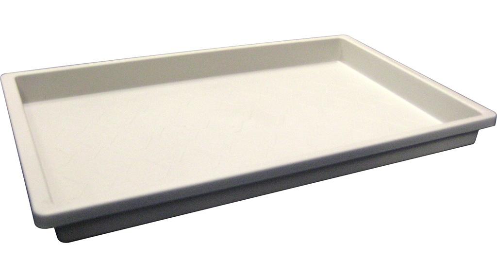 庫内で使用可能なライトグレーのシューズトレーでサイズは2種