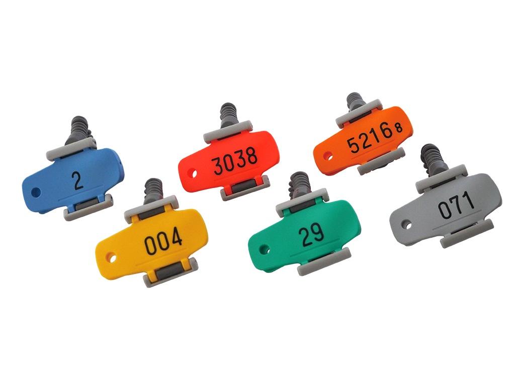 カールコード式のキーオメイトR型5色